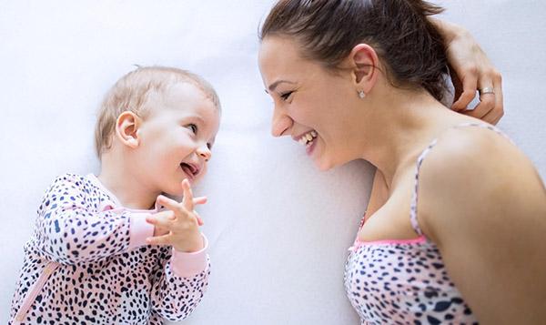 Малыш учится говорить