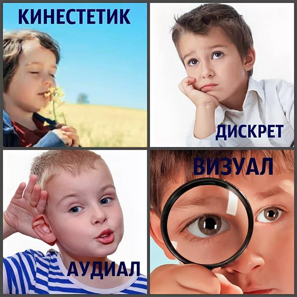Базовые типы восприятия