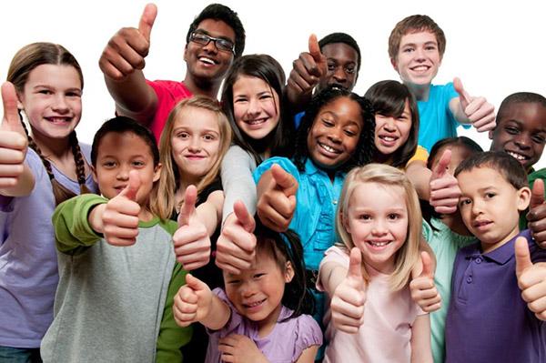 Сплоченный коллектив, основанный на принятии друг друга детьми