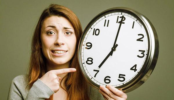 Рисунок 4 – Дефицит времени на работе