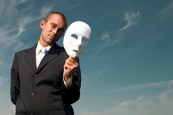 маска, которую носит человек